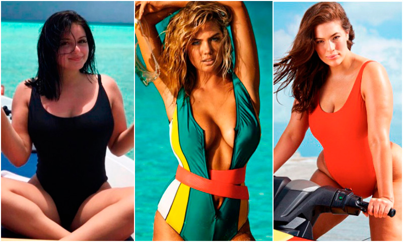 Ariel Winter y Ashley Graham lo confirman: el bañador será la prenda más 'sexy' del verano
