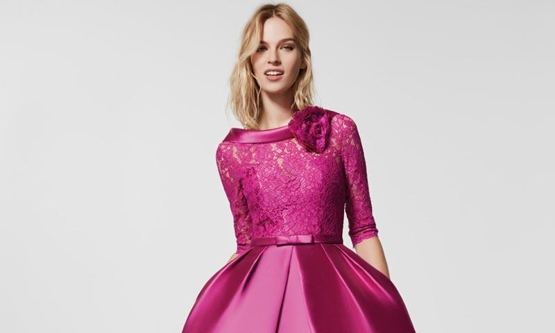 Así son los vestidos de fiesta de Pronovias que se llevarán en 2018