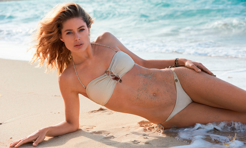 Doutzen Kroes lanza su primera colección de bikinis inspirada en sus viajes