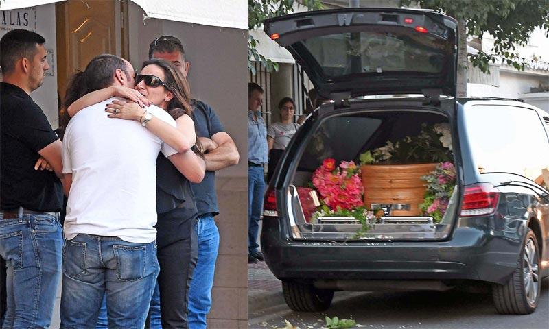 Los restos de David Delfín llegan a Marbella, donde será incinerado