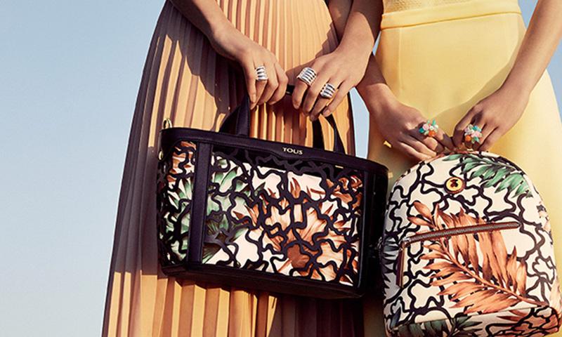 Mochilas y bolsos de viaje de Tous: elegancia y funcionalidad, todo en uno