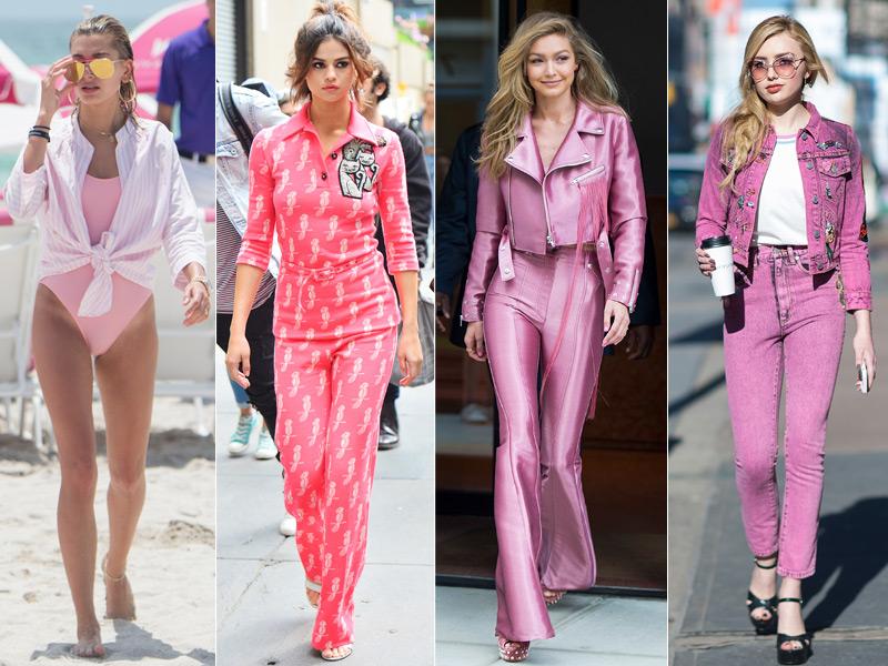 De Gigi Hadid a Peyton List, el 'look' de Barbie es el nuevo rosa