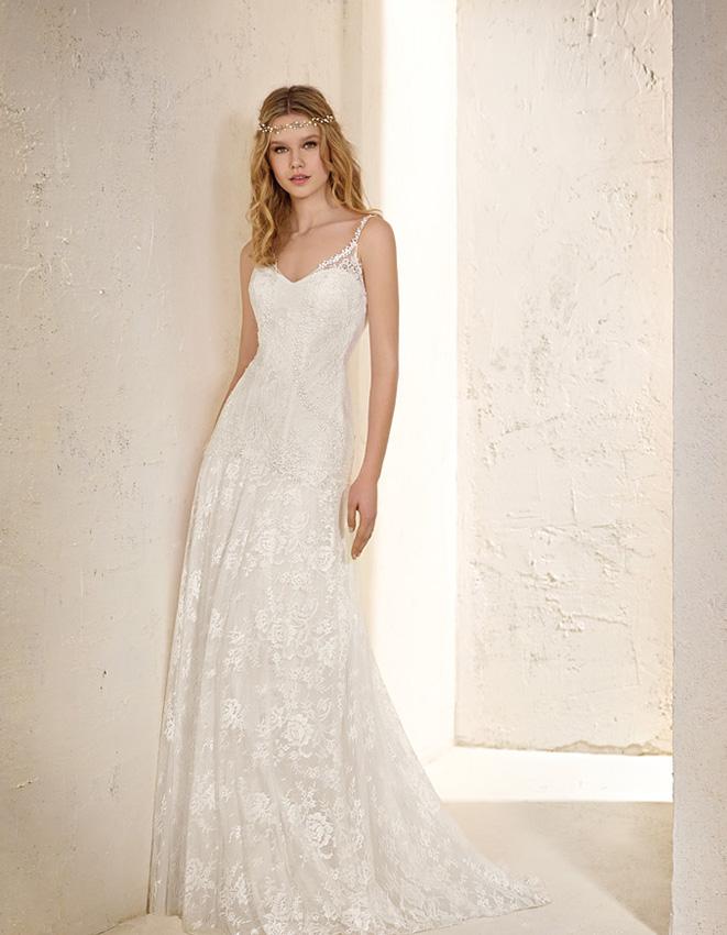 lleva un vestido ibicenco el día de tu boda - foto