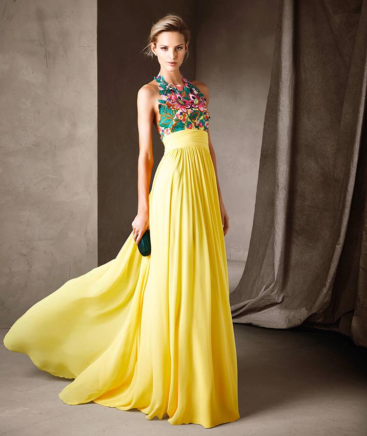 a9281711dd Estos son los colores que llevarán los vestidos de fiesta-de la ...
