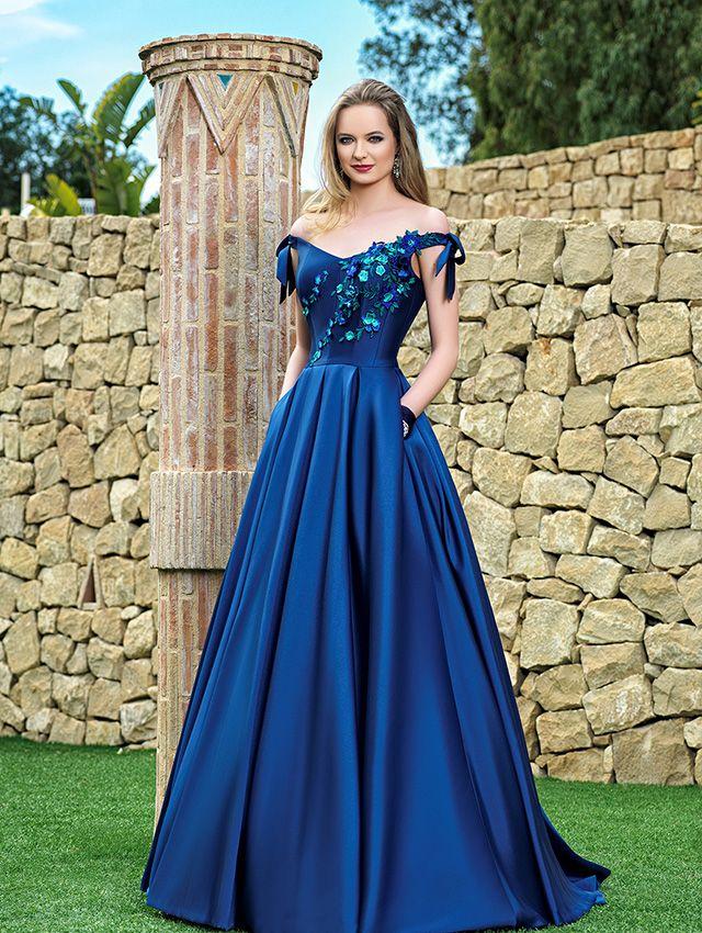 Colores actuales para vestidos de fiesta