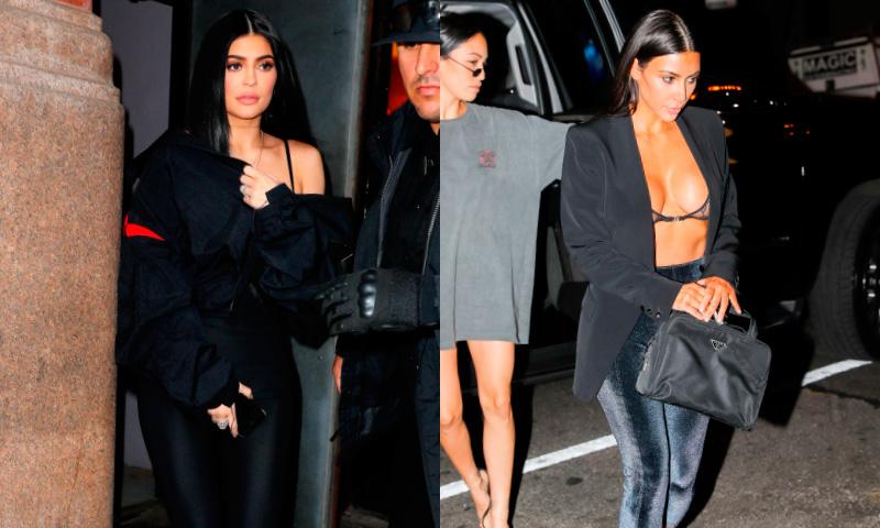 Las mallas de ciclista, el nuevo fetiche del 'clan Kardashian' (casi) al completo
