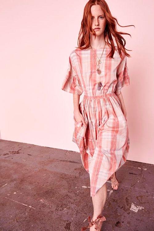 Kate Boswoth o cómo elevar un vestido de cuadros a la categoría de ...