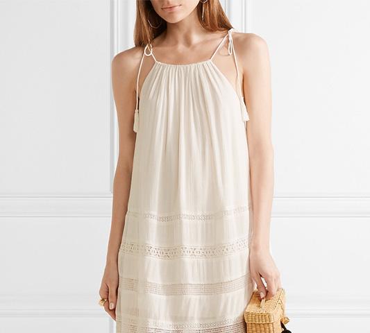 los pompones son tendencia descbrela en estos vestidos ibicencos
