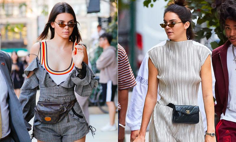 Kendall lo ha logrado: el 'street style' se rinde a la riñonera