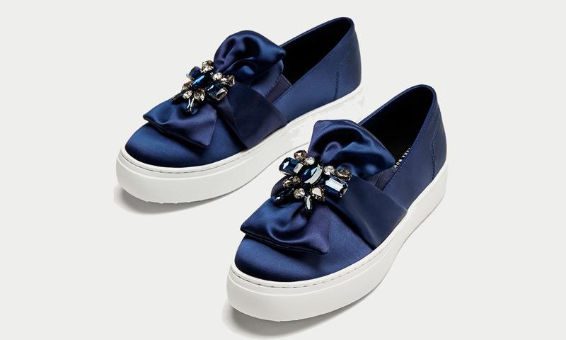 cf203daf1 Zara a debate! Zapatos de raso, ¿los amas o los odias? - Foto