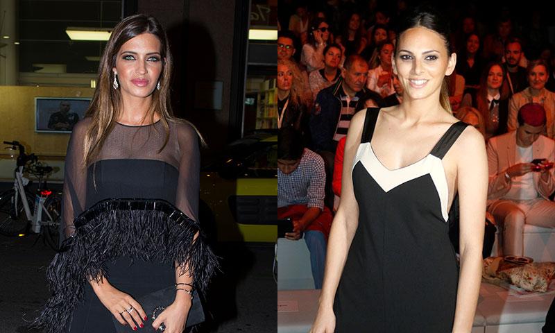Irene Rosales y Sara Carbonero se entregan al complemento (low cost) de moda