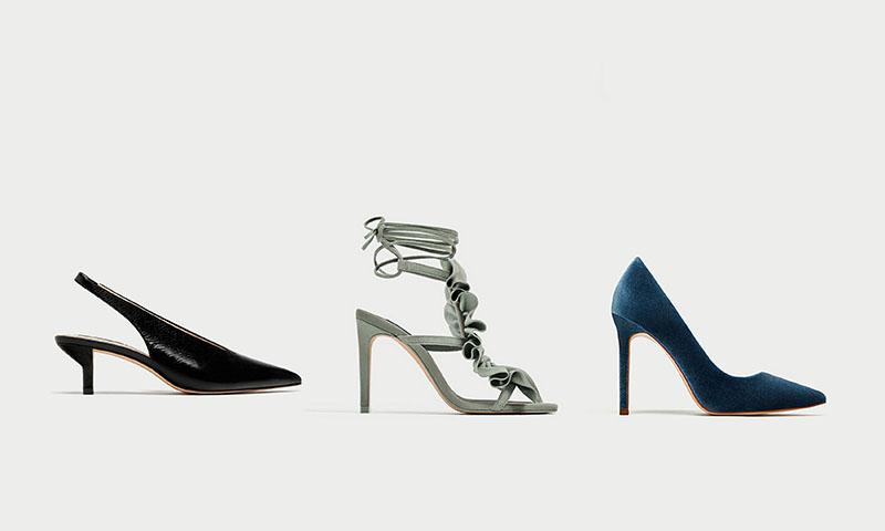 ¡No te pierdas lo último en zapatos y sandalias de piel de Zara!