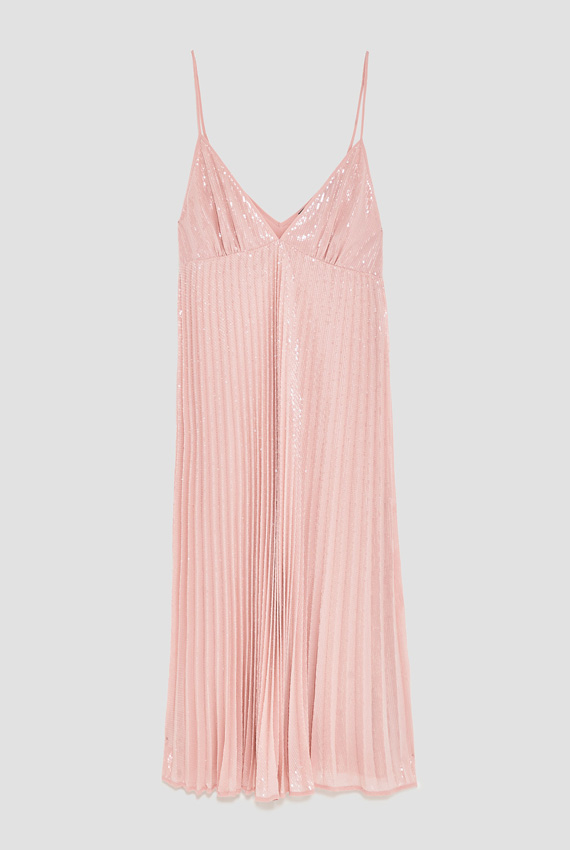 Encantador Vestido De Fiesta Zara Ideas Ornamento Elaboración ...