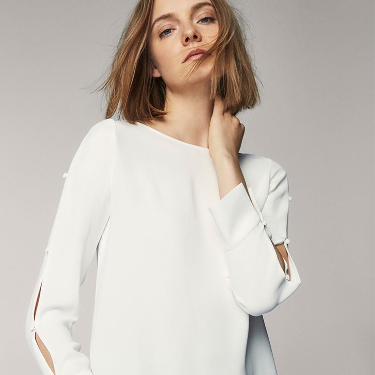 la mejor actitud 96d07 1e095 No podrás ser indiferente a la variedad de camisas blancas ...