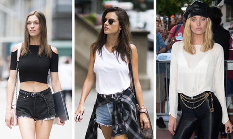 Los 10 'tops' favoritos de las supermodelos para este verano