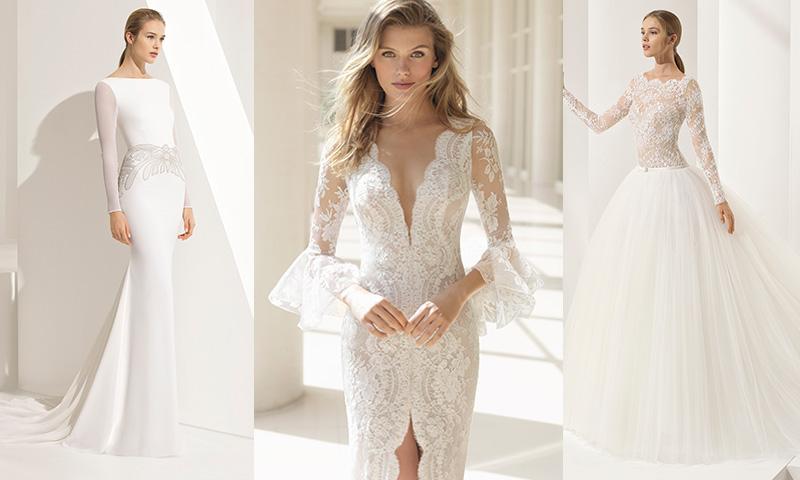 66b29b3a1 Las propuestas de Rosa Clará en vestidos de novia con sedas y bordados -  Foto