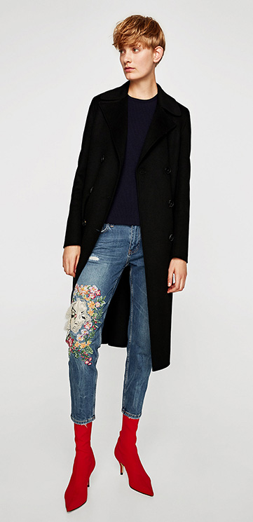Estados Unidos comprar lo mejor estilo moderno Los mejores jeans con bordados, una tendencia por la que ...