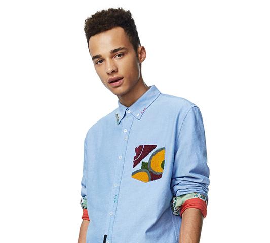 ¡Las 8 camisas masculinas de Desigual con la que captarás más de una mirada!