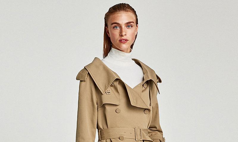 Querrás que llegue el otoño cuando veas la colección de gabardinas de Zara