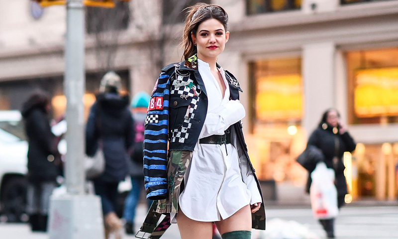 Confirmado, el abrigo que toda 'fashionista' debe tener es el 'patchwork'