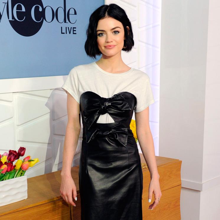 7187e25c6 Sí, Lucy Hale sabe que el vestido idóneo para el otoño es éste ...