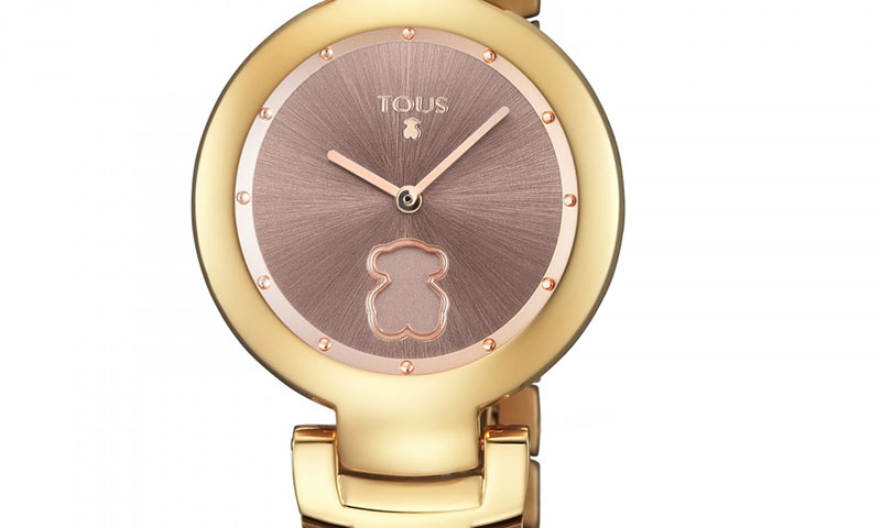 No dejes escapar el tiempo con estos relojes de acero de Tous
