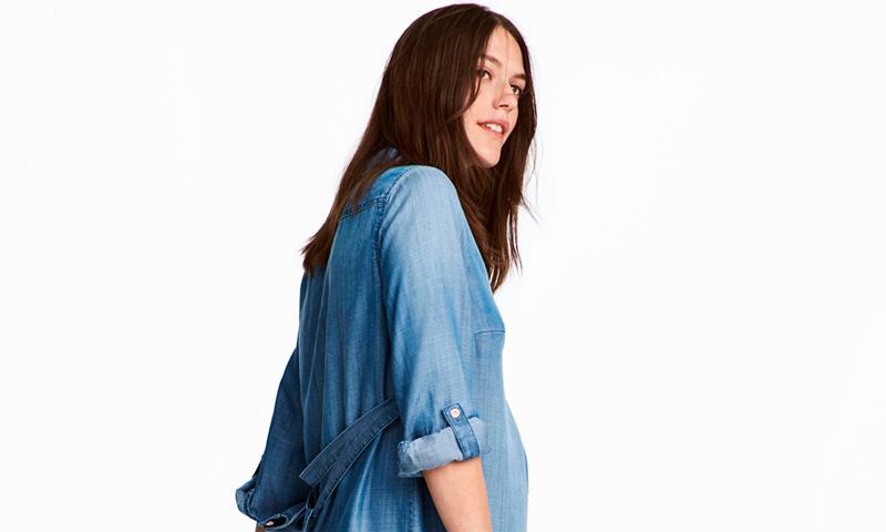 Moda premamá: confort y estilo en las propuestas de vestidos de H&M