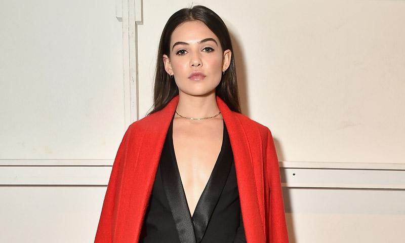 Lo ves, lo quieres: Danielle Campbell tiene el abrigo imprescindible del otoño-invierno
