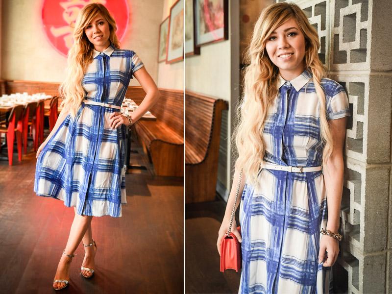 Otoño 'lady-like': Jennette McCurdy y las nuevas claves del vestido 'preppy'