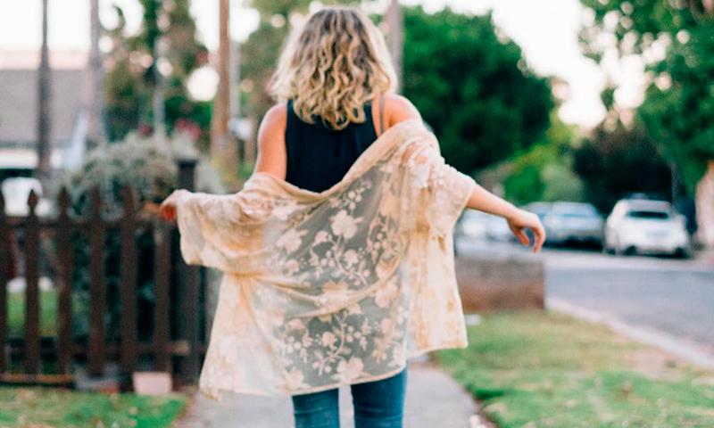 El kimono, la prenda más exótica del entretiempo, por Jennette McCurdy