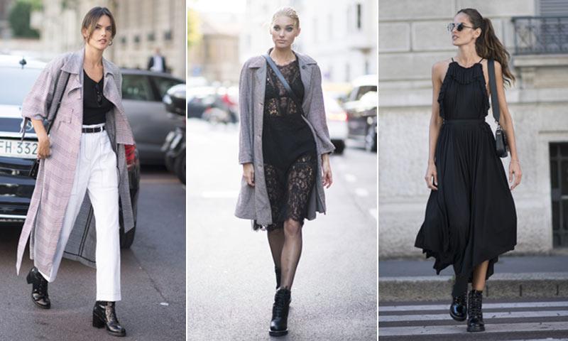 Los 'looks' más destacados de las invitadas a la semana de la moda de Milán