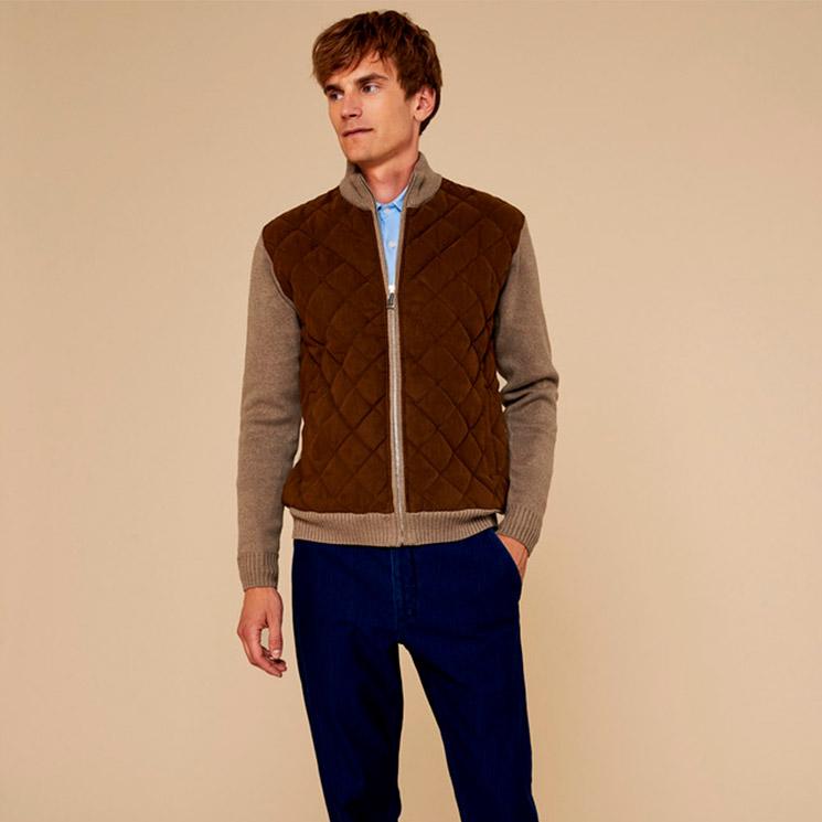 ed03f6abb8 El jersey que necesitas lo incluye Adolfo Domínguez en su última colección  de moda masculina