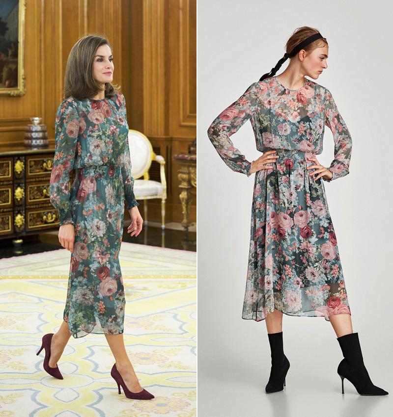 buscar auténtico 100% autentico disfruta el precio más bajo Diez vestidos de Zara que confirman que las flores también ...