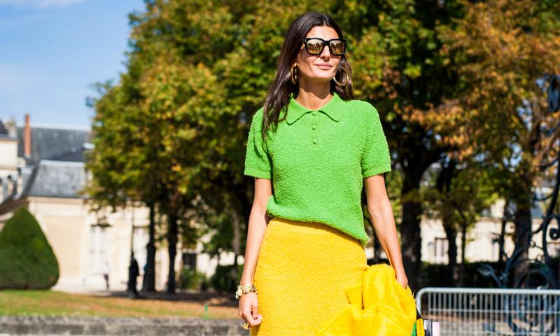 'Street Style': La mezcla de colores intensos también es para el otoño