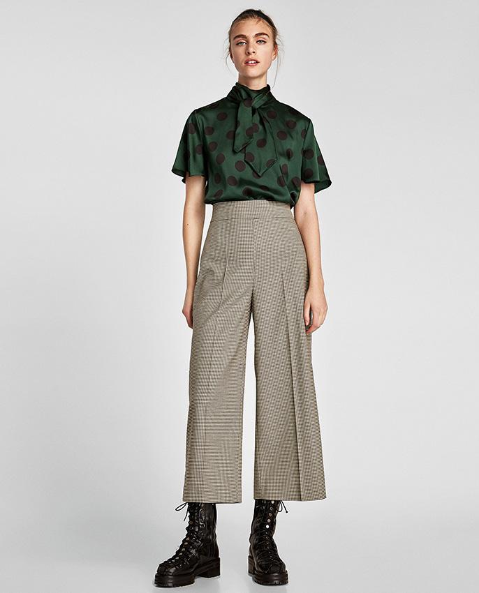 Zara Hara Que Vuelvas A Enamorarte De Los Pantalones Anchos Foto 1