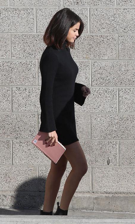 Vestidos con botines negros