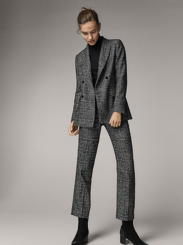 18d21494cc6 El traje de estilo masculino es tendencia este otoño