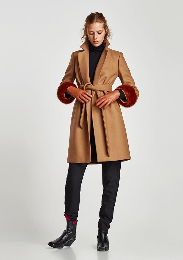 71ada77d4e47c Diez abrigos de Zara para plantar cara al frío con estilo - Foto