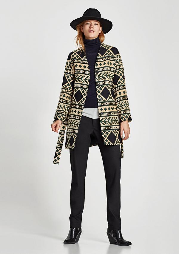 estilo abrigos Zara de con Diez plantar al para frío Foto cara zqBdRndxa