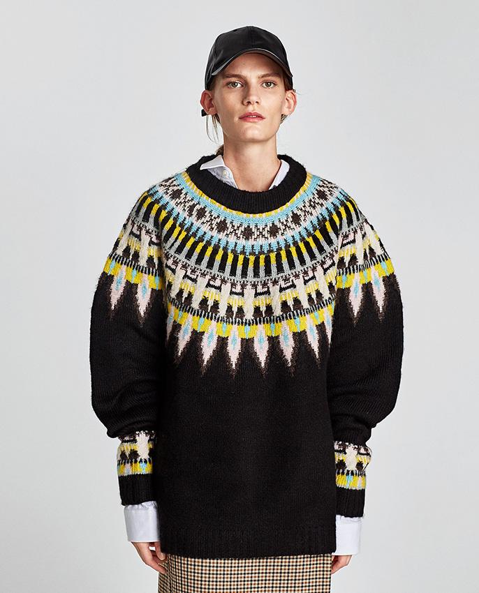 Y Protagonista En Reinventa El Zara Jersey Convierte Lo qGzpLVSUM