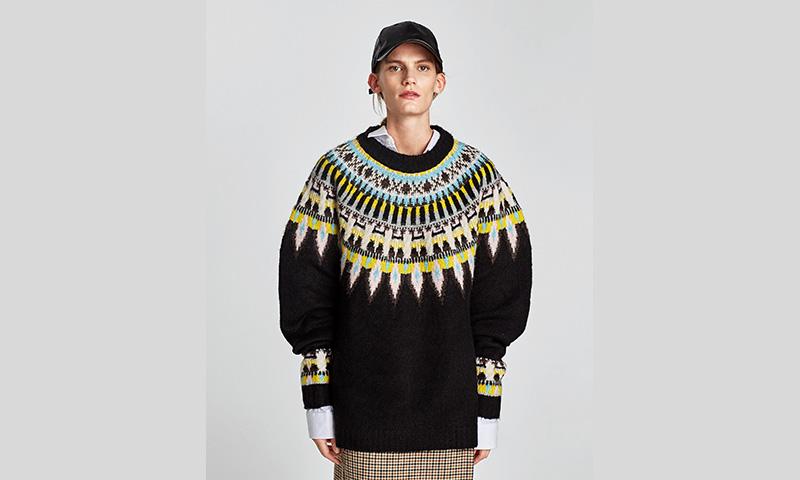 Zara 'reinventa' el jersey para convertirlo en la pieza clave del 'look'