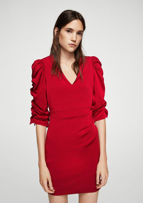 Vestidos rojos en mango