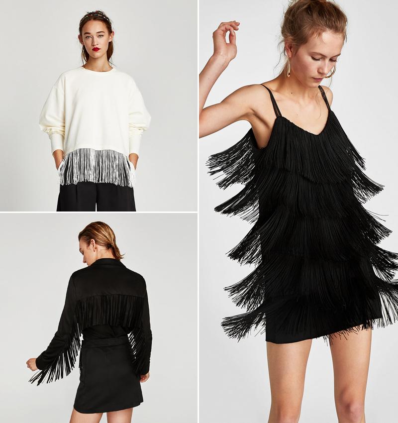 Imagenes de vestidos cortos con flecos