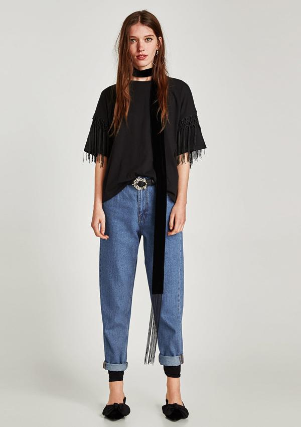 Diez prendas con flecos de Zara para un look charlestón Foto