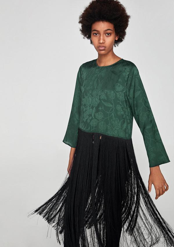 Reino Unido elige el más nuevo oficial Diez prendas con flecos de Zara para un look charlestón - Foto 1