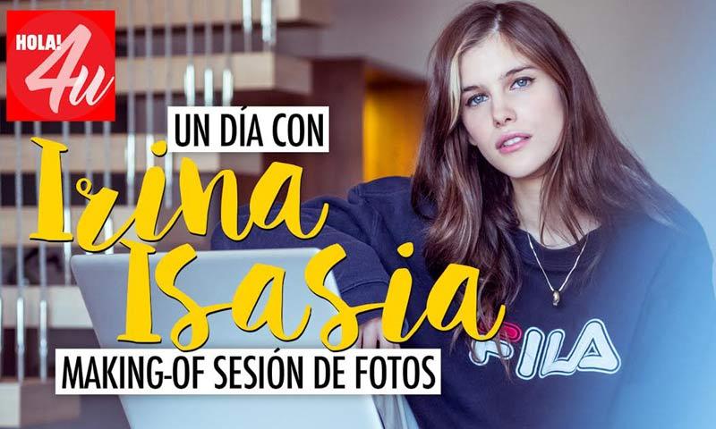 24 horas con Irina Isasia, la nueva 'influencer' de HOLA!4u