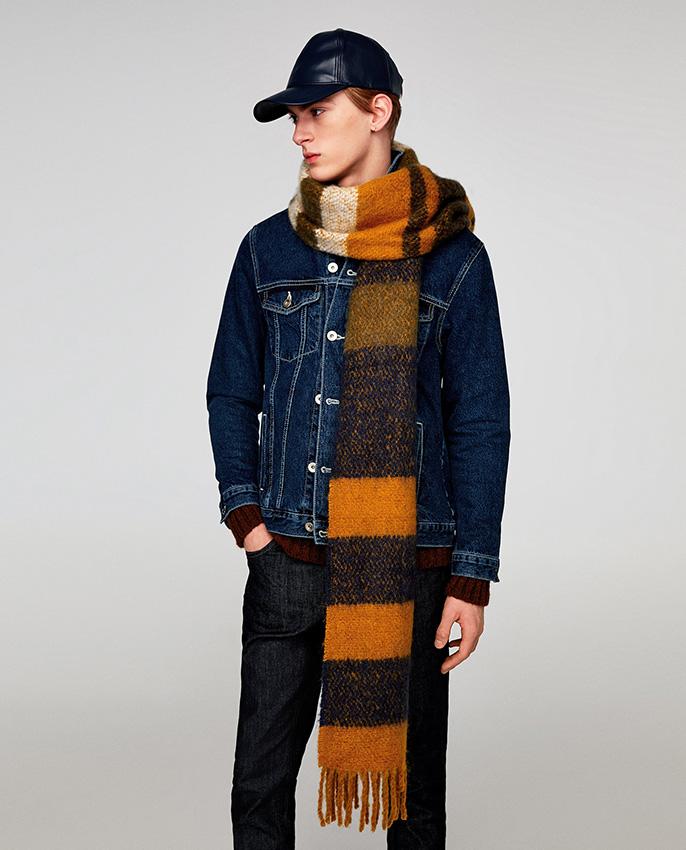 nueva estilos c56f6 bc78e Una bufanda para cada tipo de hombre, y todas están en Zara ...