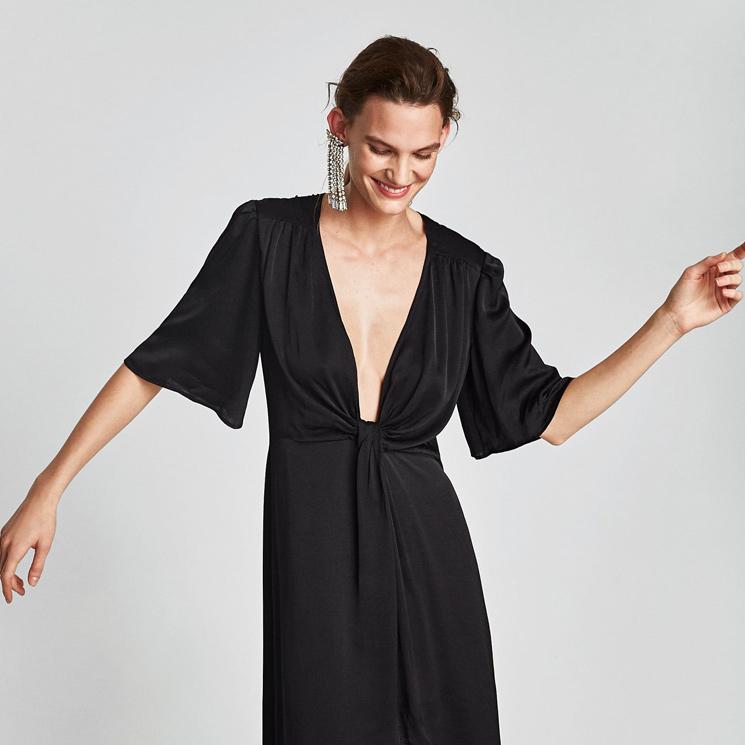 compra venta sensación cómoda seleccione para mejor vestidos negros de Zara para recibir el nuevo año con un ...