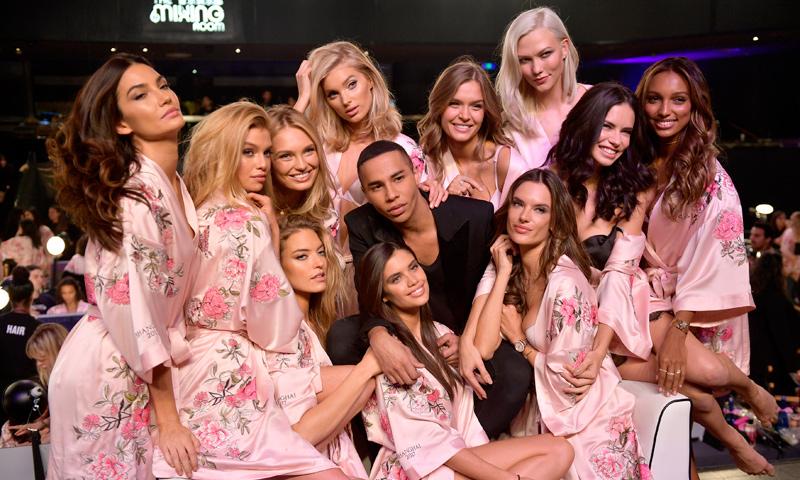 Los ángeles de Victoria's Secret brillaron más que nunca con la colección de 'aires punk' de Balmain