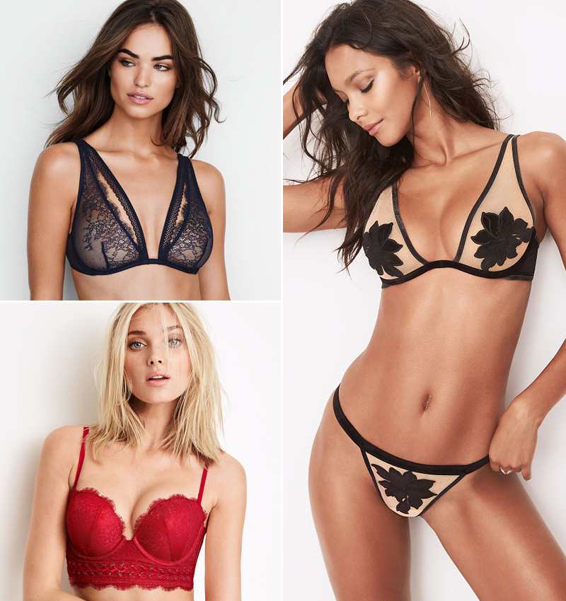 12 sujetadores de Victoria s Secret para empezar el año con un toque ... 97252ec78703